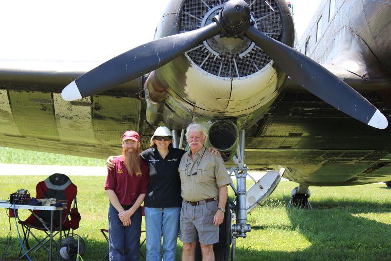 Paul KC8GPR, Debby KC3CUV and Richard K3JB