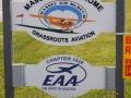 Massey Aerodrome entrance sign